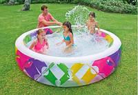 Бассейн надувной детский бассейн детский Intex Размеры- 229 см. - диаметр; 56 см. - высота.