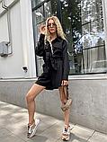 Костюм жіночий лляної річний сорочка і шорти, фото 7