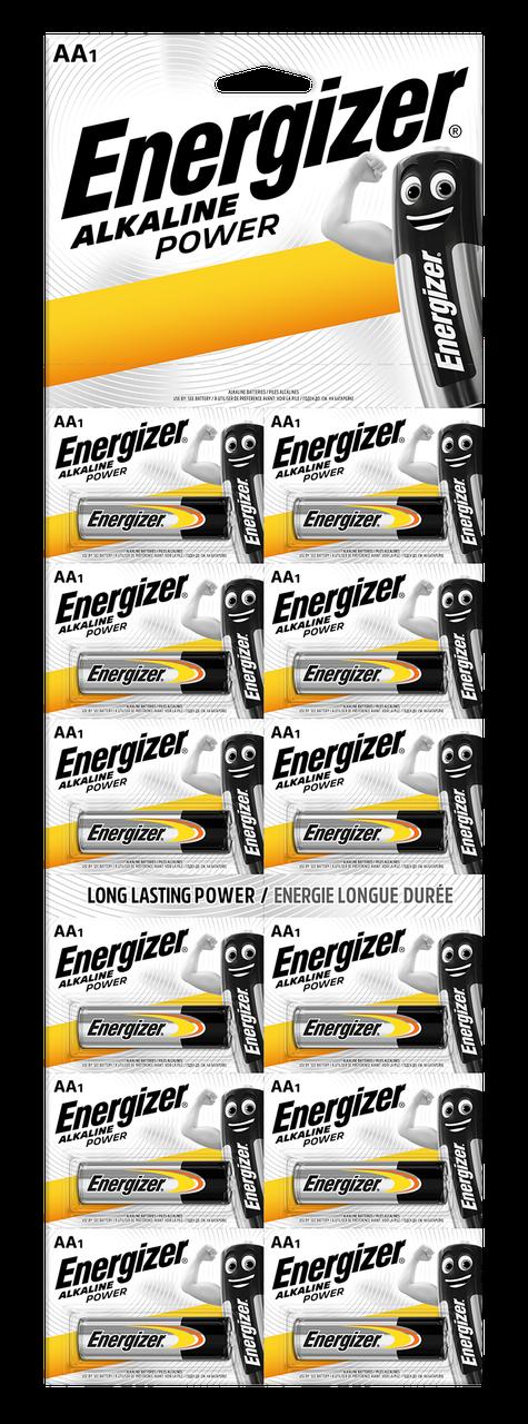Батарейки Energizer AA LR6