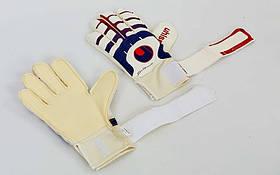 Перчатки вратарские с защитными вставками на пальцах UHLSPORT FB-842-3, фото 3