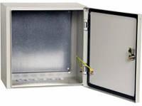 Бокс монтажный БМ-53+П 500*500*250мм IP54 (с монтажной панелью) БИЛМАКС