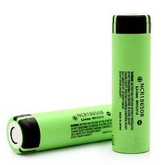 Литиевый аккумулятор 18650 Panasonic NCR18650B 3400 mAh без защиты