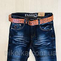 Джинсовые брюки для мальчиков оптом, H.L. Xiang, 134-164 рр., арт.  A-608, фото 4
