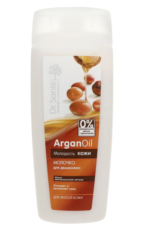 Молочко для демакияжа Dr.Sante ArganOil 200 мл