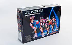 Розсувні роликові ковзани KEPAI F1-S9-R, фото 3