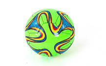 Мяч футбольный №2 Сувенирный Сшит машинным FB-0043-14, фото 3
