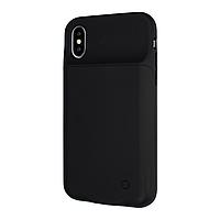 Чехол power bank / повербанк Battery Case для iPhone X/XS 3200 черный
