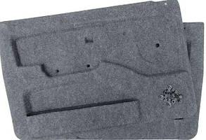 Обивка двери ВАЗ 21213 ворс формованная с карманами (к-кт 2 шт) ДЭЛ