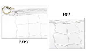 Сетка для волейбола узловая c тросом Эконом10 (р-р 9,5x1м, ячейка 10x10см) SO-5270