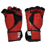 Рукопашные перчатки винил Everlast красные EVDX364-R