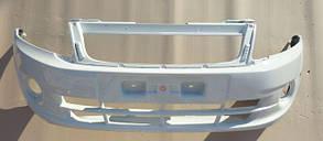 Бампер ВАЗ 2190 передній Люкс (240) Біла Хмара Альянс Холдинг