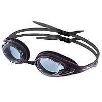 Очки для плавания MadWave ALLIGATOR M042713 (поликарбонат, силикон, цвета в ассортименте)