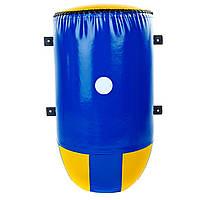 Маківара настінна конусна (1шт) Тент LEV UR LV-5368 (р-р 70х40х27см, синій-жовтий)
