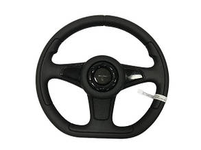 Руль ВАЗ 2101 Спорт Экстрим (черный) TECHNO