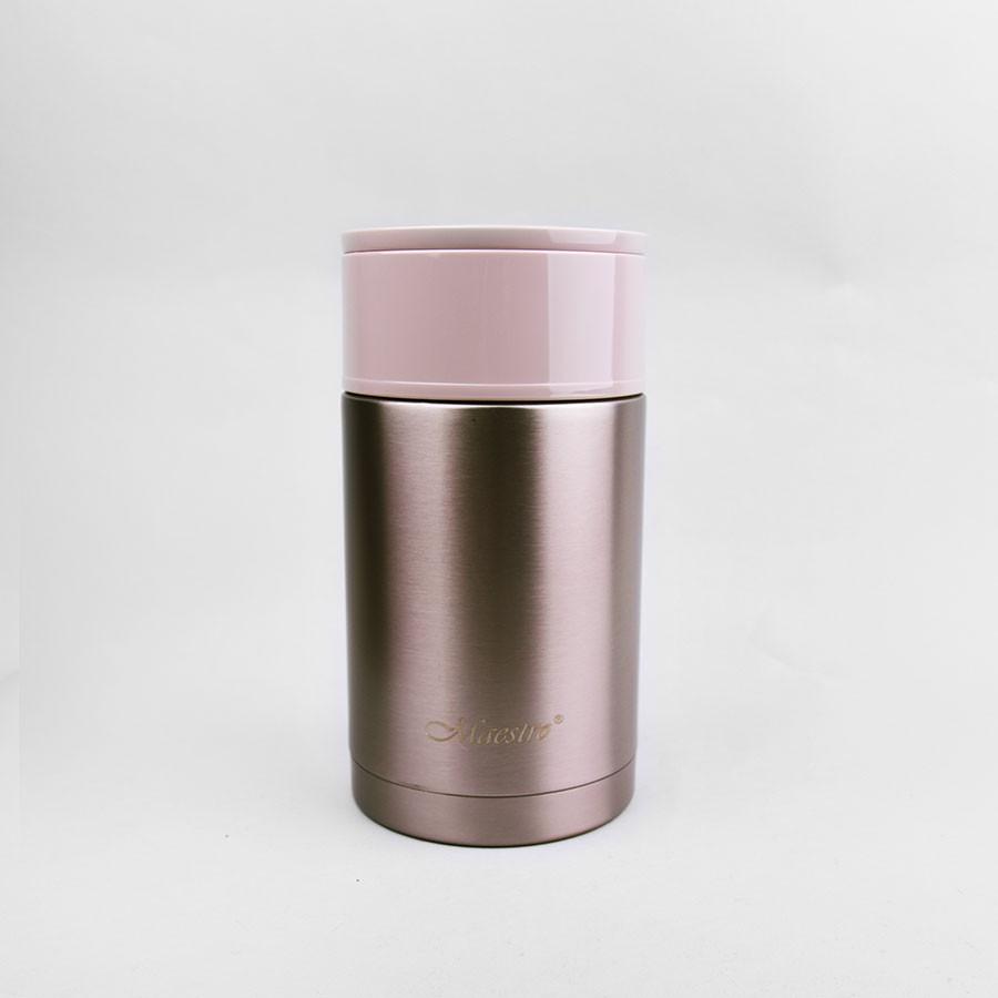 Харчовий термос з нержавіючої сталі 0,6 л Maestro, колір коричневий (MR-1636-60)