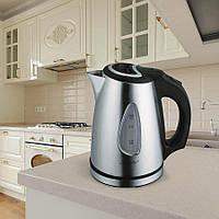 Электрический чайник 1,0 л Maestro, металл, цвет серебро (MR-029)
