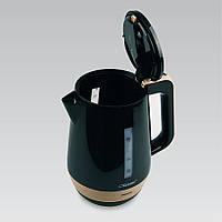 Электрический чайник 1,7 л Maestro, пластик, цвета черный и белый (MR-033)