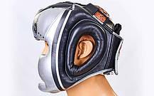 Шлем боксерский с полной защитой кожаный TWINS FHG-TW4SI-XL, фото 3