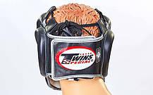 Шлем боксерский с полной защитой кожаный TWINS FHG-TW4SI-XL, фото 2