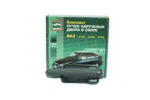 Евроручки ВАЗ 2110-12, Приора (под сверление двери) ( к-т 4 шт.) неокрашенные *Тюн-Авто
