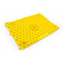 Килимок-пазл ортопедичний масажний (масажер для ніг і стоп) OBABY 24*30cm (MS 1952) Жовтий