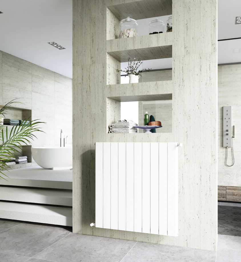 Вертикальный радиатор Global Sebino 500 6 секций (Италия)