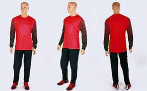 Форма футбольного вратаря Юниорская Source, размер S, цвет красный-черный (CO-0188-R)