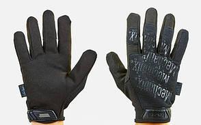Рукавиці тактичні з закритими пальцями MECHANIX BC-5623-BK