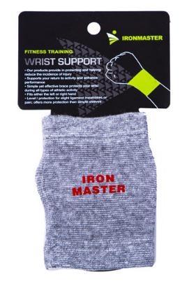 Фиксатор запястья IronMaster 1шт,40% latex/30% bamboo/30% cotton