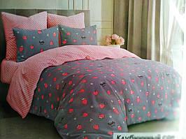 Спальний комплект з ягодою, Тиротекс постільна білизна бязь