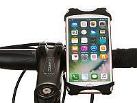 Держатель телефона на детскую коляску велосипед силиконовый Baseus Оригинал
