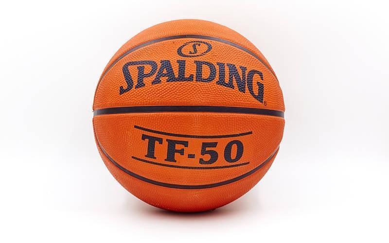 Мяч баскетбольный резиновый №5 SPALDING 73852Z TF-50 OUTDOOR