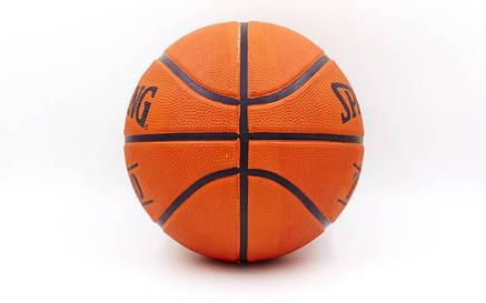 Мяч баскетбольный резиновый №5 SPALDING 73852Z TF-50 OUTDOOR, фото 2