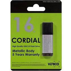 Флеш пам'ять 16GB USB2.0 Verico Cordial Silver