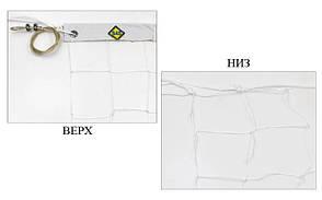 Сетка для волейбола узловая с тросом (р-р 9,5x1м, ячейка 10x10см) SO-5264