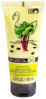 """Лифтинг-маска для лица """"Ревень, виноград, олива"""" Bio World Botanica Cream"""