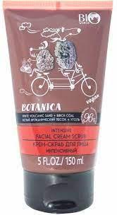 """Крем-скраб для лица """"Вулканический песок, уголь"""" Bio World Botanica Cream"""