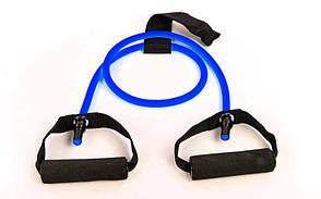 Еспандер для фітнесу трубчастий 6LB синій FI-2659-B