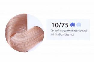Краска-уход для волос ESTEL professional DE LUXE 10/75 De Luxe світлий блондин коричнево-червоний