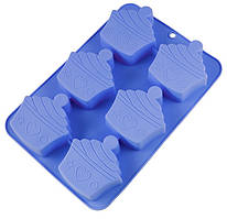 "Форма для выпечки ""Cakes""Maestro, материал - силикон, размер25,7х17,5х3 см,MR-1597New"
