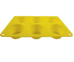 Форма для випічки Maestro, матеріал - силікон, розмір 24х16х3,5 см,MR-1599
