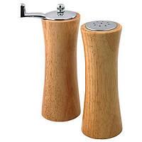 Деревянный набор соль и перец для специй Maestro, материал - дерево,  MR-1618