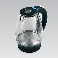 Электрический чайник 1.7 л Maestro корпус из термостойкого стекла, цвет черный (MR-057)
