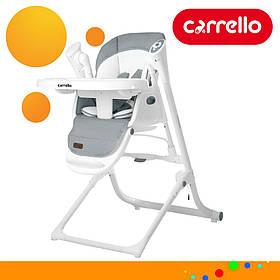 Детский стульчик для кормления CARRELLO Triumph CRL-10302 Grey Серый | Стульчик-качеля, шезлонг Каррелло