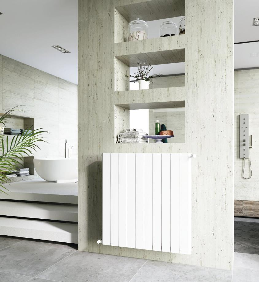 Вертикальный радиатор Global Sebino 500 8 секций (Италия)