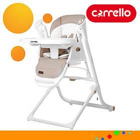 Детский стульчик для кормления CARRELLO Triumph CRL-10302 Cocoa Brown | Стульчик-качеля, шезлонг Каррелло