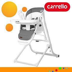 Детский стульчик для кормления CARRELLO Triumph  CRL-10302 Palette Grey | Стульчик-качеля, шезлонг Каррелло