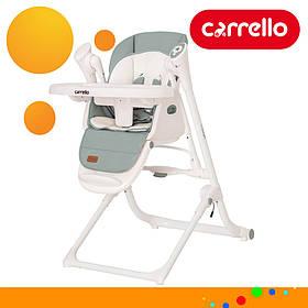 Детский стульчик для кормления CARRELLO Triumph CRL-10302 Olive Green Оливковый | Стульчик-качеля, шезлонг