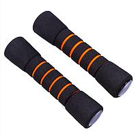 Гантели IronMaster 0,5 кг х 2 шт, неопрен, цвет черно-оранжевый (IR98804-05)