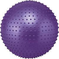 М'яч для фітнесу SOLEX масажний 55см